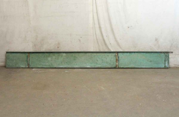 Commercial Furniture - 10 Foot Salvaged Monel Shelf
