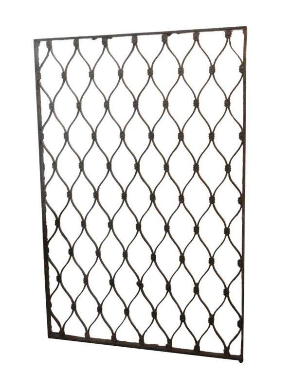 Decorative Metal - Cast Iron Tall Grate