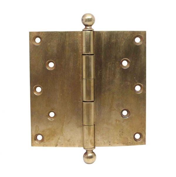 Door Hinges - 5.5 x 5.5 Cast Brass Harvard Door Hinge