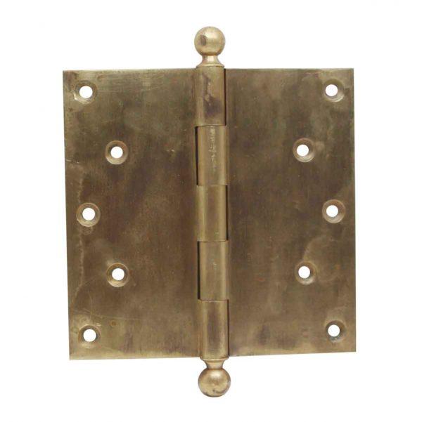 Door Hinges - 6 x 6 Corbin Harvard Cast Brass Door Hinge