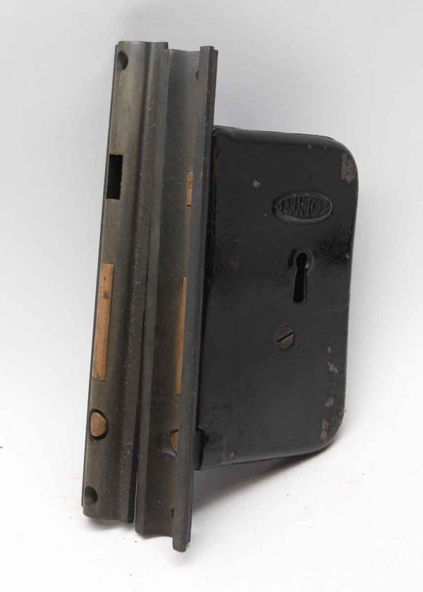 Door Locks - 7.625 in. H Pair of Branford Cast Iron Pocket Mortise Door Locks