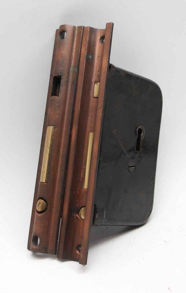 Door Locks - 7.625 in. H Pair of Pocket Door Cast Iron Locks