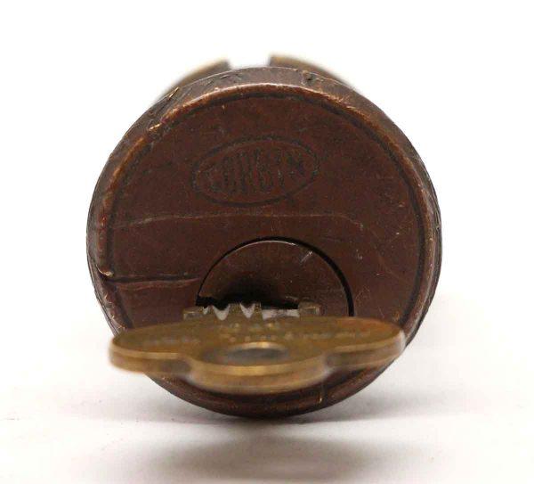 Door Locks - Bronze Corbin 1.25 in. Lock with Key