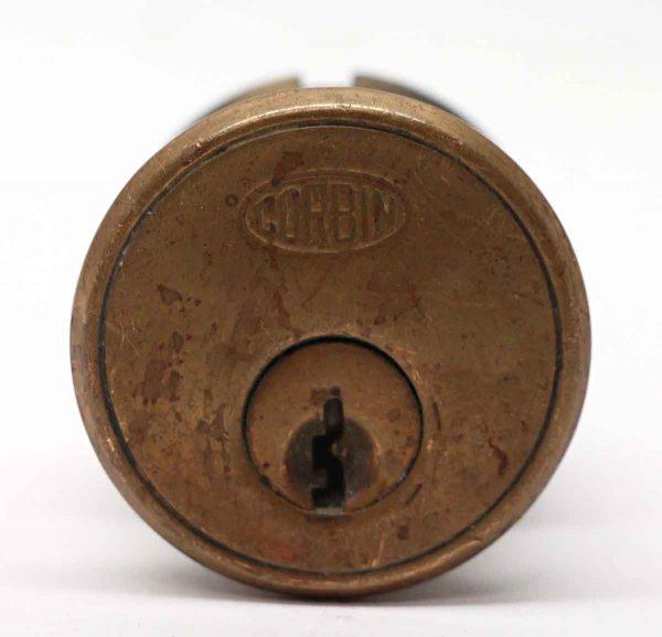 Door Locks - Reclaimed Corbin 1.625 in. Bronze Lock