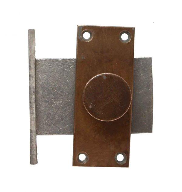 Door Locks - Yale & Towne Brass Antique Thumb Turn Door Dead Bolt
