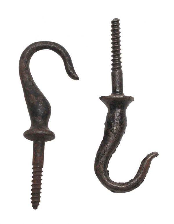 Garden Elements - Cast Iron Pair of Plant Hooks