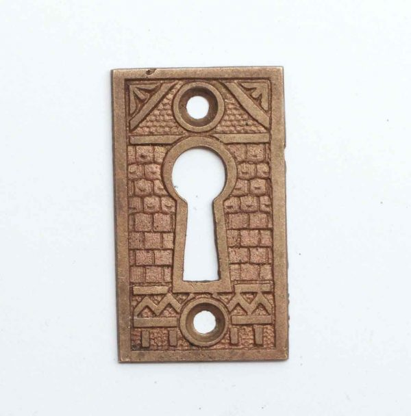 Keyhole Covers - Aesthetic Detailed Brass Keyhole Cover
