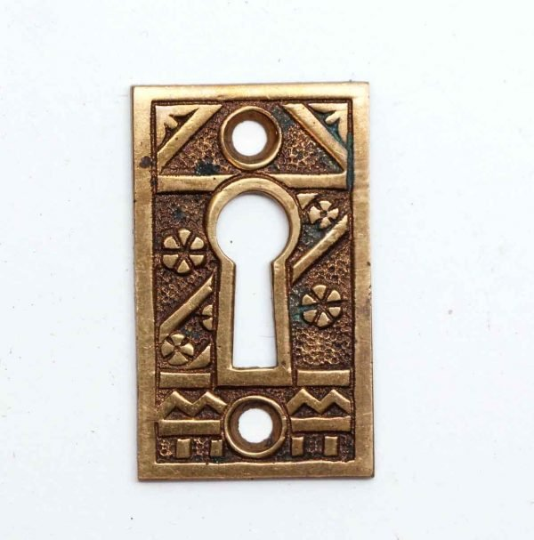 Keyhole Covers - Vintage Aesthetic Brass Keyhole Cover