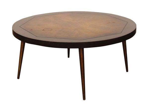 Living Room - Vintage Round Coffee Table