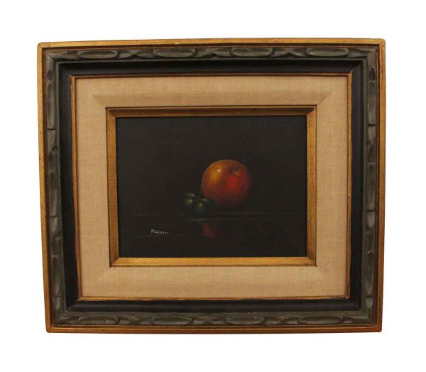 Paintings - Signed Still Life Fruit Painting