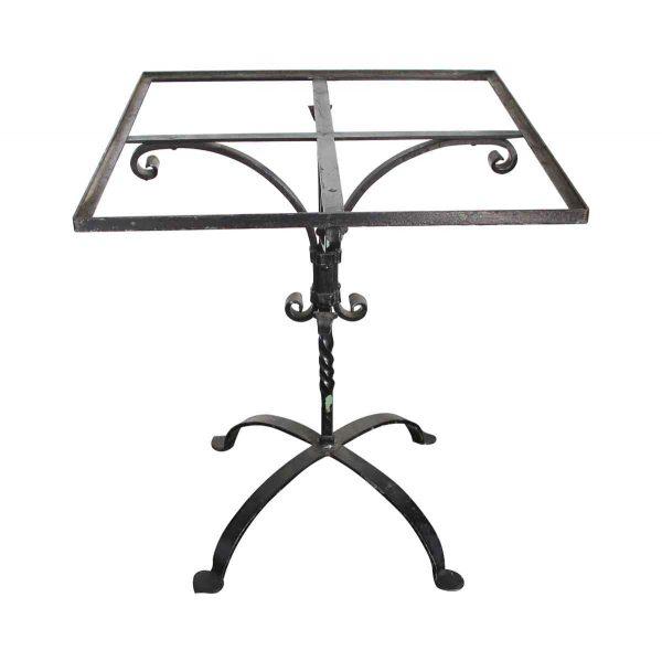 Patio Furniture - Olde Black Iron Square Patio Table Base