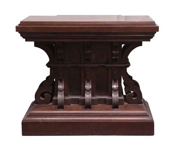 Pedestals - Unique Wooden Podium with Storage