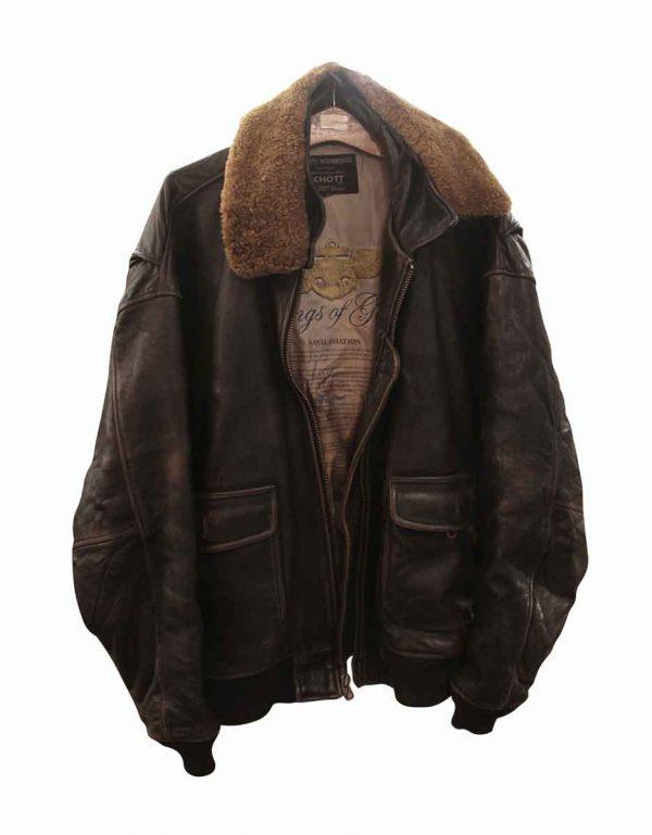 Personal Accessories - Authentic Schott U.S. Navy Leather Jacket