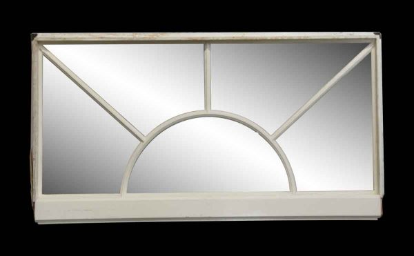 Reclaimed Windows - White Rectangular Window