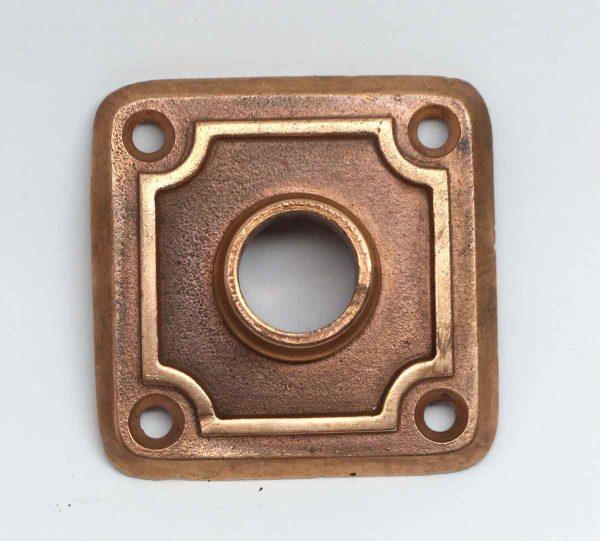 Rosettes - 2.375 in. Square Brass Rosette