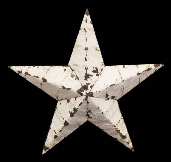 Tin Creations - Rustic White Tin Star