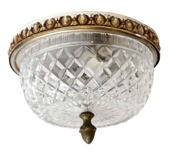 Waldorf Astoria - Flush Mount Waldorf Astoria Crystal Light Fixture