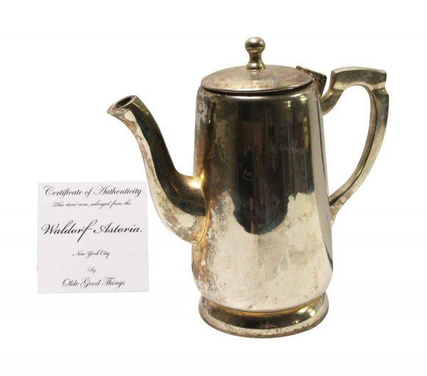 Waldorf Astoria - Waldorf Astoria Silver Plated Teapot