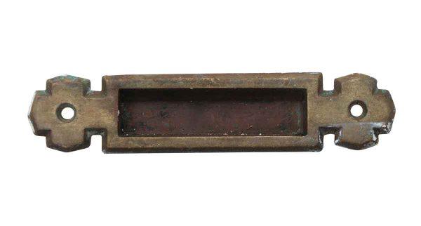Window Hardware - 5 in. Arts & Crafts Bronze Sash Lift