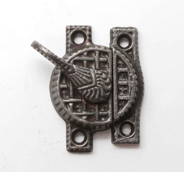 Window Hardware - Antique Aesthetic Iron Window Lock