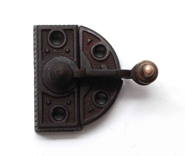 Window Hardware - High Profile Cast Iron & Bronze Window Lock