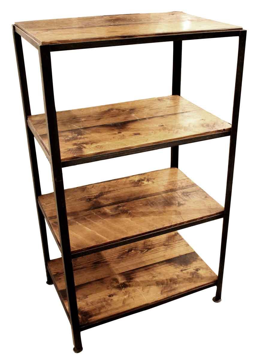 wholesale dealer 9dc67 71a83 Iron & Reclaimed Pine Shelving Unit
