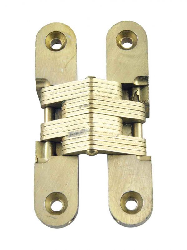 Cabinet & Furniture Hinges - Soss Brass Invisible Hinge Model No. 212