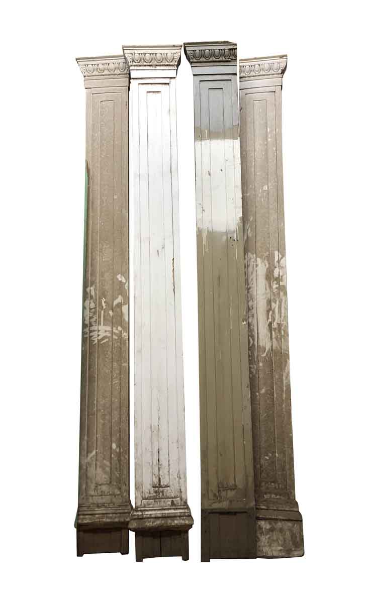Set Of Four Wooden Art Deco Pilaster Olde Good Things