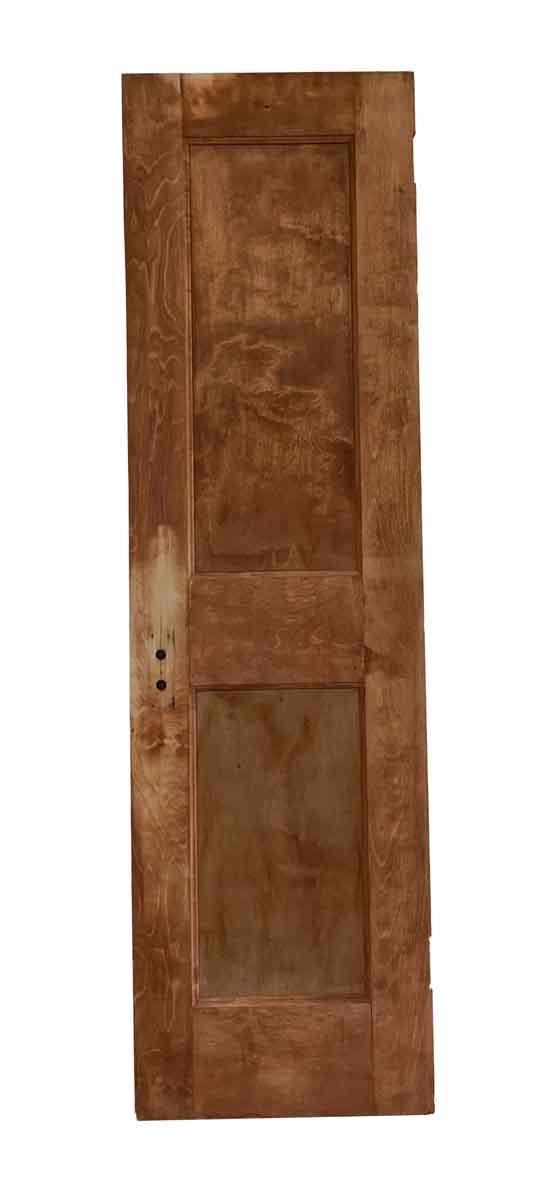 Commercial Doors - Two Vertical Panel Antique Wood Door
