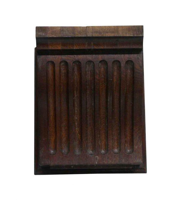 Corbels - Solid Dark Wood Tone Oak Corbels