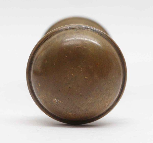 Door Knobs - Pair of Brass Plain Antique Door Knobs