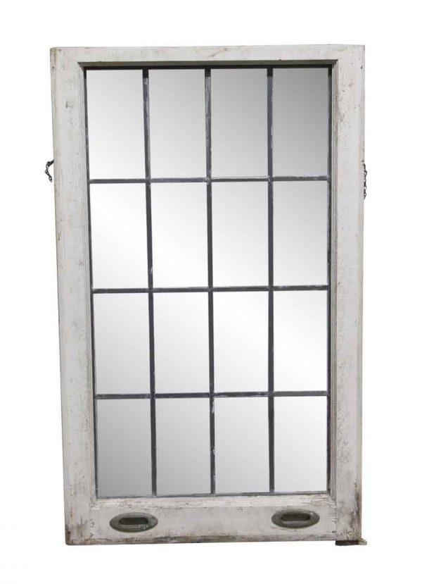 Leaded Glass - 38.5 x 23 Bottom Sash Leaded Glass Window