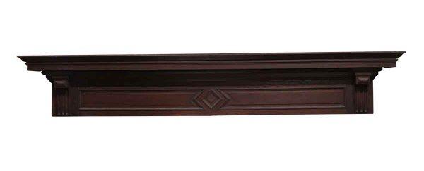 Moldings - 83.5 in. Carved Oak Header