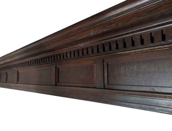 Moldings - Oak Crown Molding with Lobby Areas