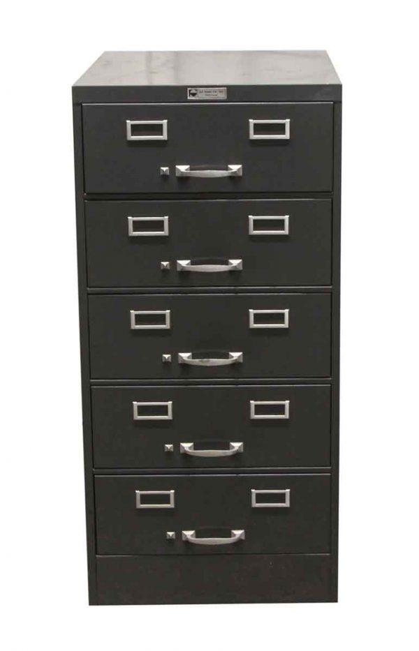 Office Furniture - Steelmaster Art Steel Co. Gray Cabinet