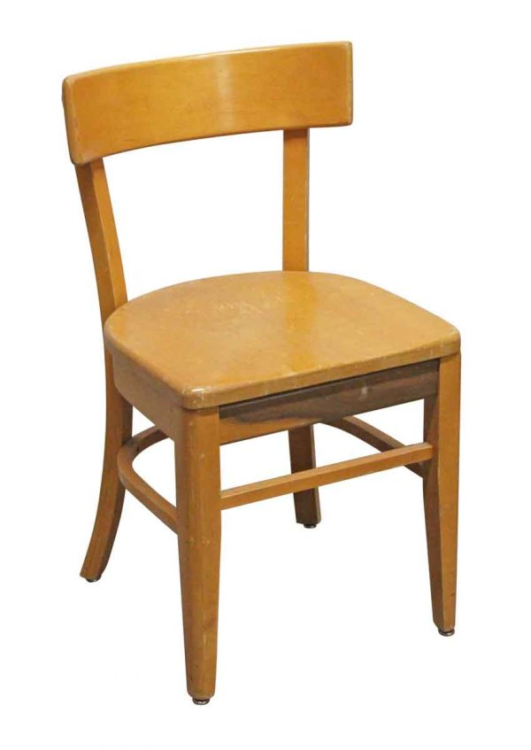 Seating - Vintage Maple Bent Wood Chair from Rose Hill