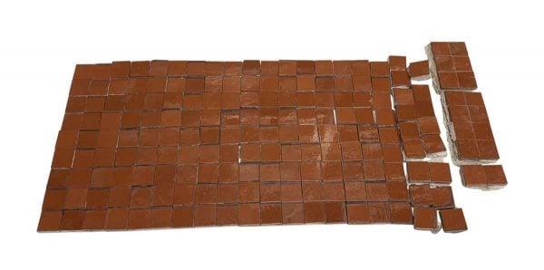 Wall Tiles - 2 x 2 Brown Wall Tile Set