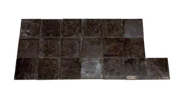 Wall Tiles - 4.25 in. Antique Brown Wall Tile Set