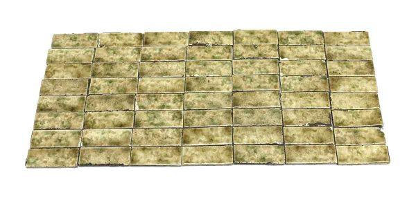 Wall Tiles - 4.25 x 1.5 Yellow & Green Wall Tile Set