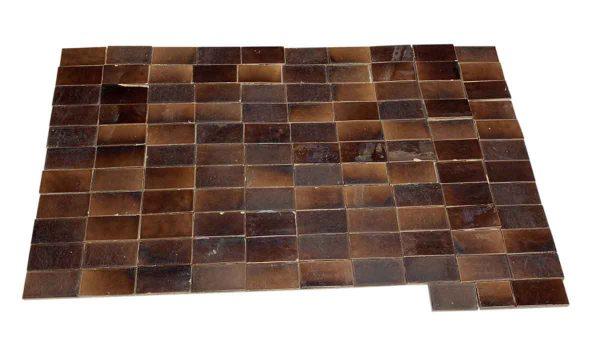 Wall Tiles - 4.25 x 2 Brown Wall Tile Set