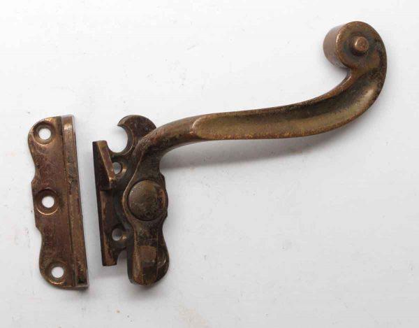 Window Hardware - Tudor Style Bronze Right Hand Window Latch