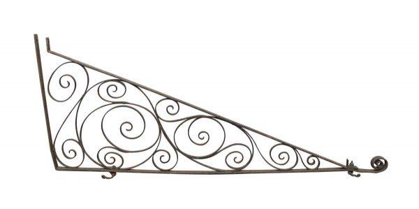 Balconies & Window Guards - Ornate Vintage Wrought Iron Bracket