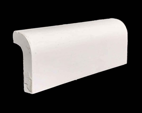 Bull Nose & Cap Tiles - 0.25 in. Thick Off White Outside Corner Cap Tile