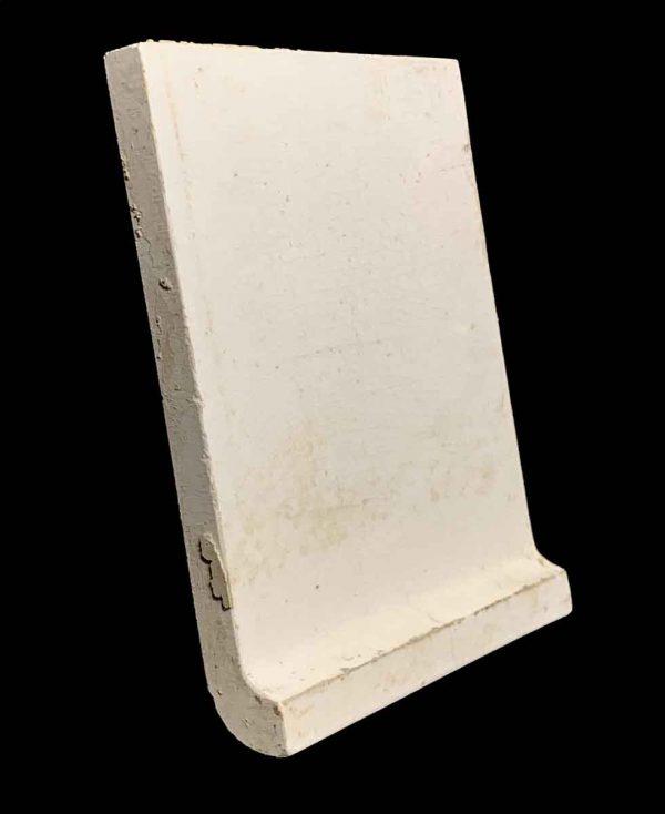 Bull Nose & Cap Tiles - 6.75 x 6 Off White Base Cap Tile