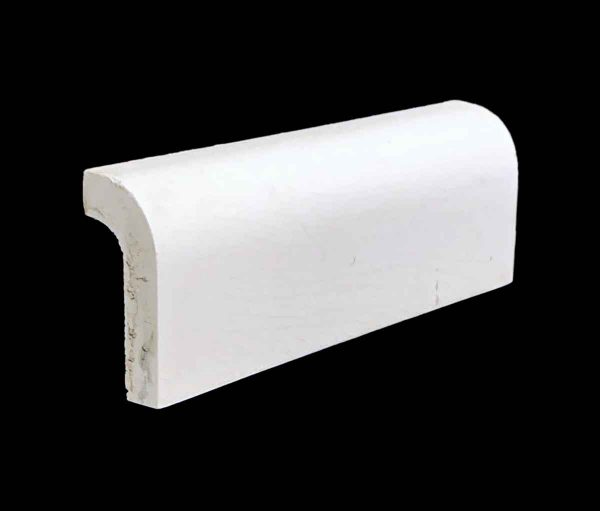 Bull Nose & Cap Tiles - Off White 0.25 in. Thick Outside Cap Tile