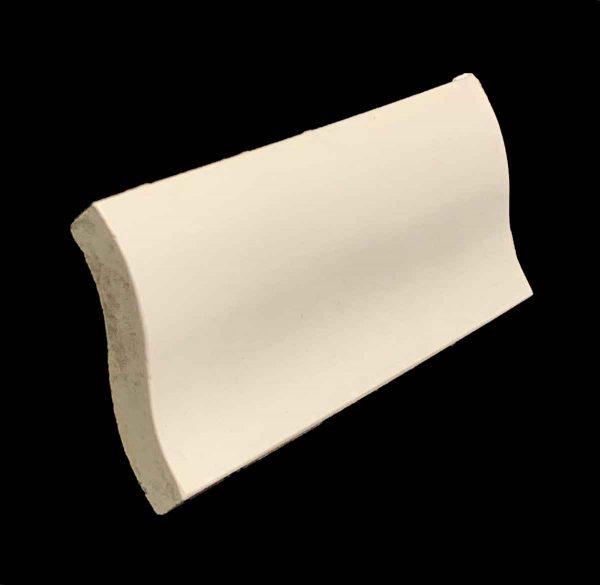 Bull Nose & Cap Tiles - Off White S Shaped Cap Tile