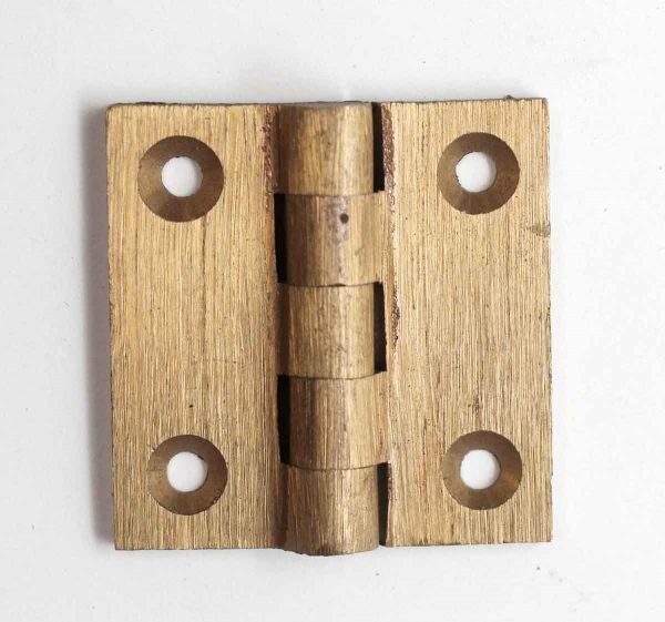 Cabinet & Furniture Hinges - Brass 1.5 x 1.5 Butt Cabinet Hinge