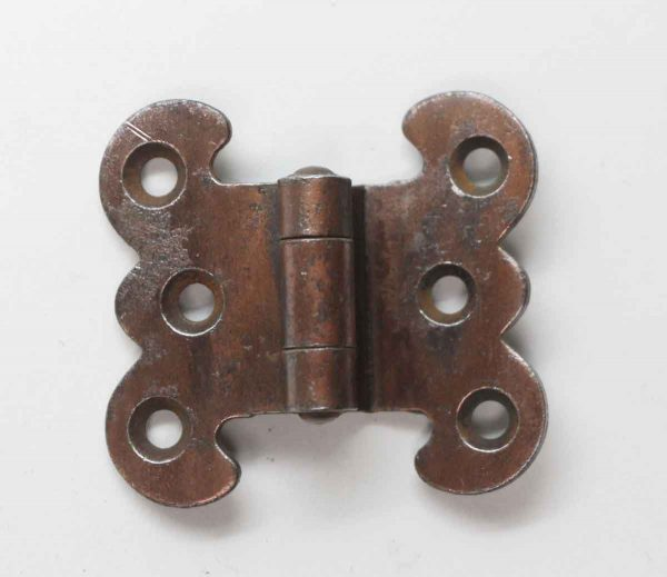 Cabinet & Furniture Hinges - Brass Offset Butterfly Hinge