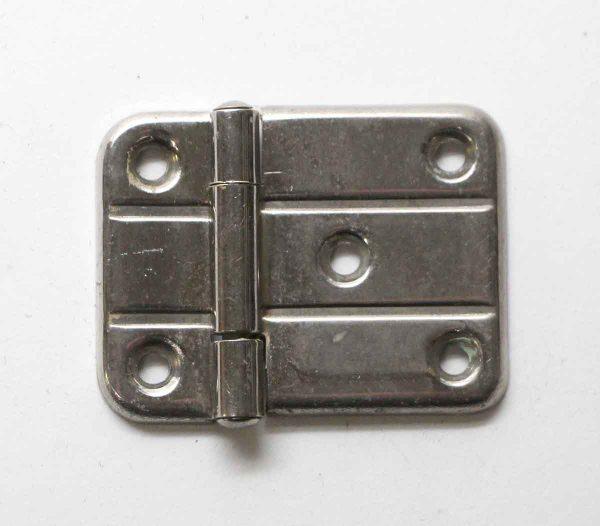 Cabinet & Furniture Hinges - Vintage Nickel Plated Surface Cabinet Hinge