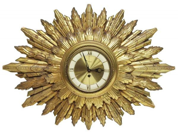 Clocks  - Detailed Replica of an Antique 8 Day Wall Clock